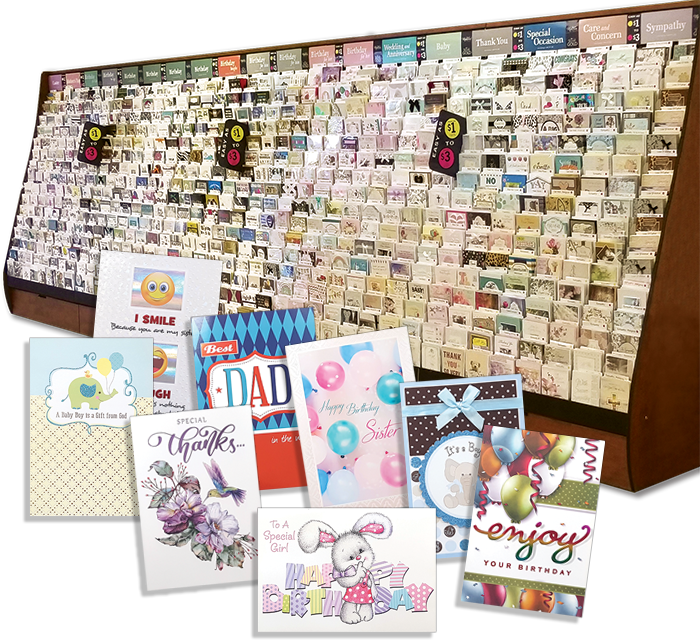 easy $1 $3 wholesale greeting cards